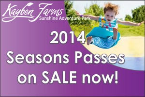 2014 Season's Passes on sale now graphic