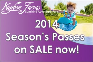 2014 Season's Passes on sale now graphic copy