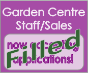 Garden Centre Sales Saff position filled