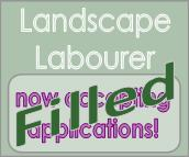 Landscape labourer position filled