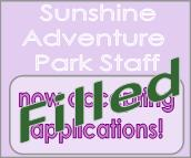 Sunshine Adventure Park staff position filled