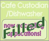 custodian dishwasher position filled
