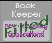 Book keeper position filled