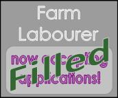 Farm labourer position filled