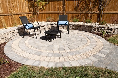 Circle patio kit