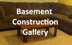 Basement Construction gallery