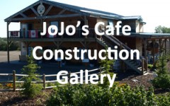JoJo's Cafe construction gallery