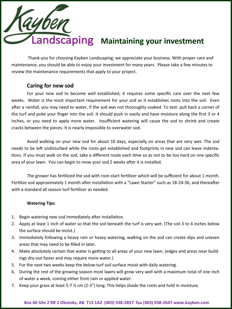 Maintaining your Investment-1