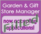 Garden & Gift Store Manager Position Filled