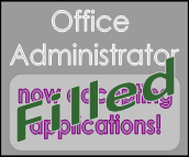 office administrator filled