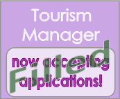Tourism Manager position filled