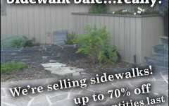 Sidewalk Sale Post