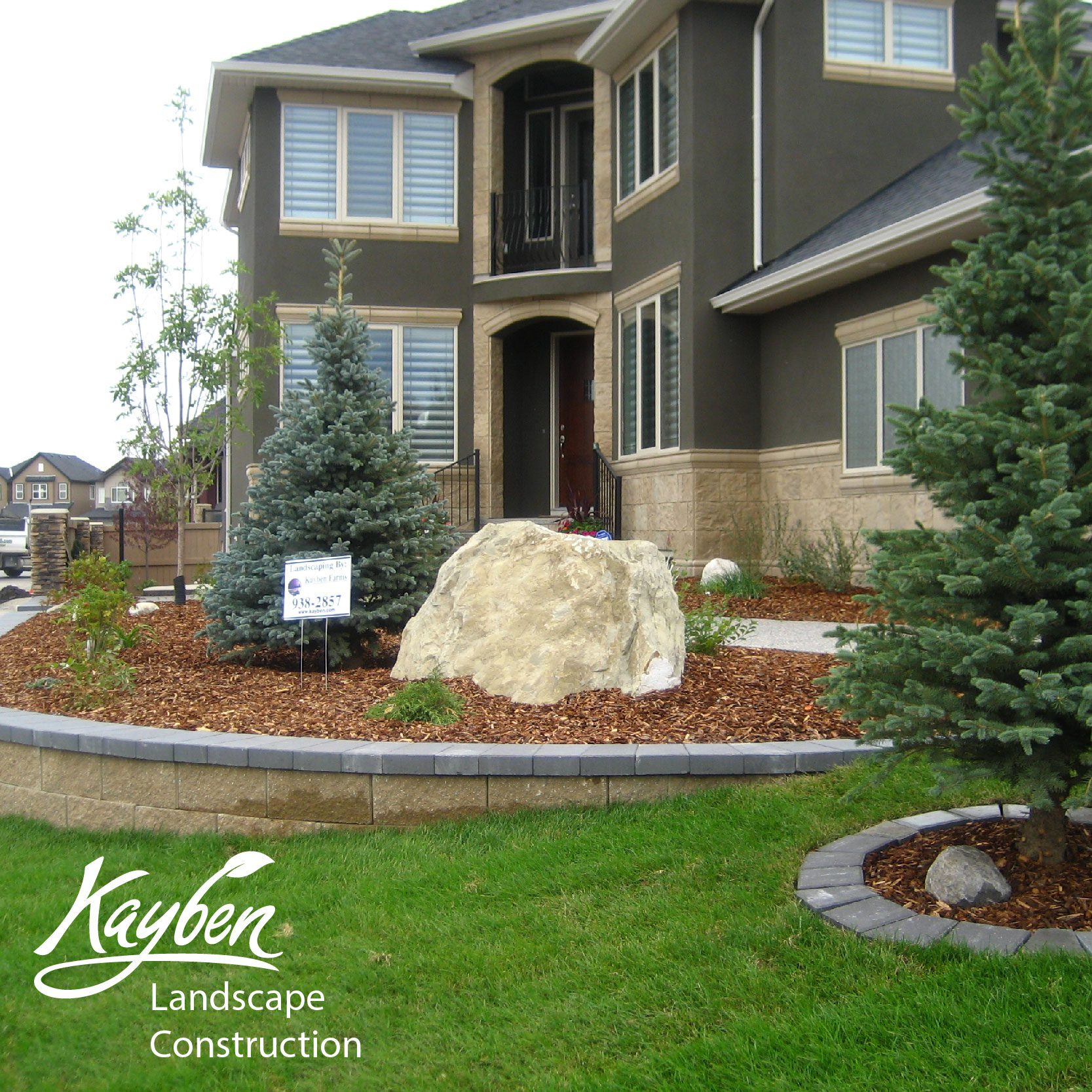 Small Front Yard Curb Appeal: Front Yard Curb Appeal Low Maintenance-01